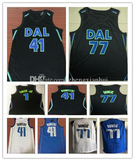 308a458cf ... greece 2018 2018 mens 1 dennis smith jr. 41 dirk nowitzki city jersey  rookie 77