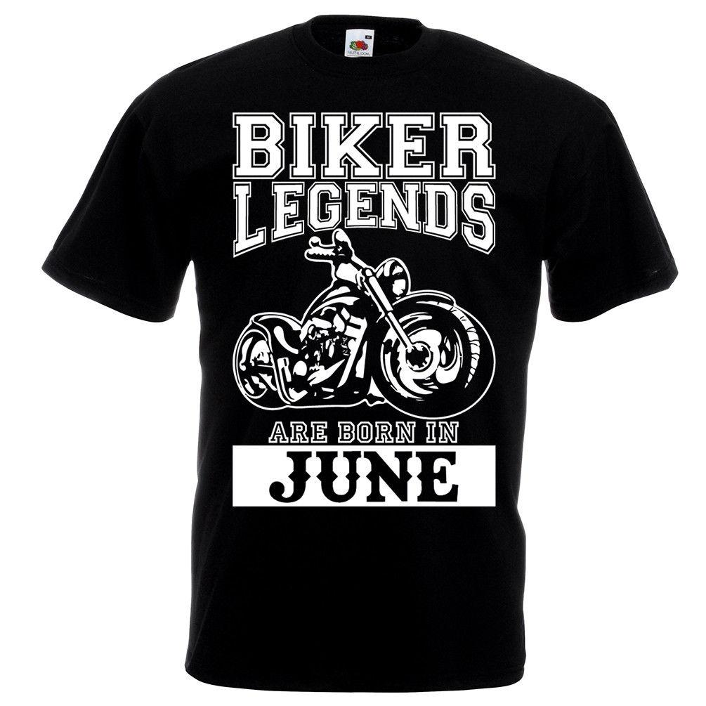 55ed85dc Biker Legends Are Born In June T Shirt Motorbike Motorcycle Dad Birthday  Gift Funny Political T Shirts Tee Designs From Beidhgate09, $11.01|  DHgate.Com