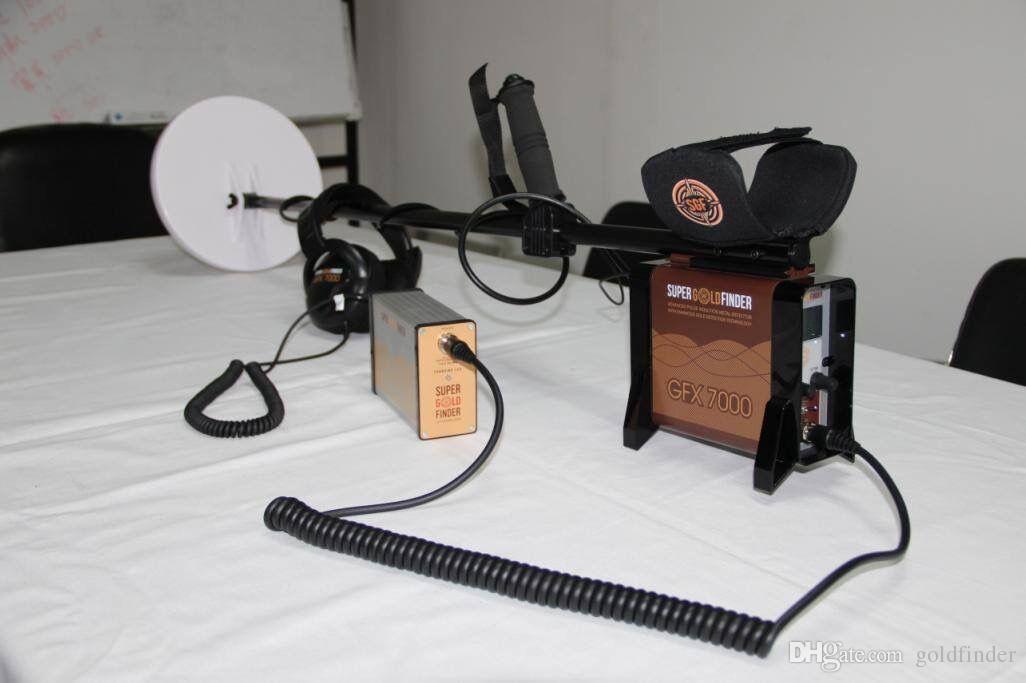 Underground GFX7000 Detectores De Metais para o Tratamento de Caça Longo Alcance Profundo Detector de Mineração Localizador de Mineração GFX-7000 Bateria Recarregável