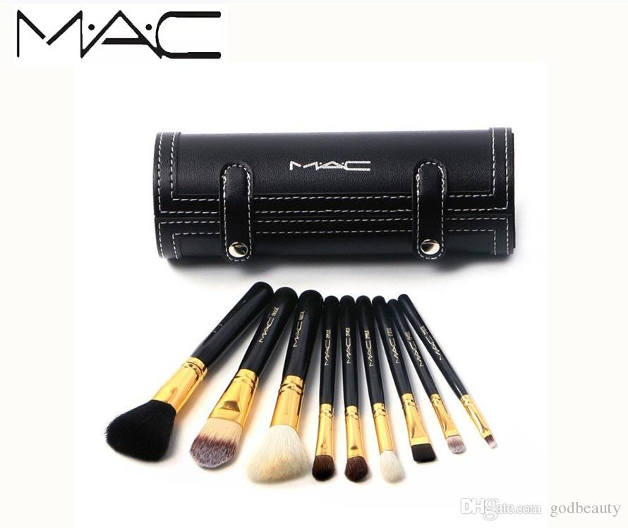 New Brands MAC M MC MACS Barrel Packaging Makeup Brushes Kit MAKEUP Brands Brush With Mirror Vs Mermaid UK 2019 From Godbeauty, UK $$9.65 | DHgate UK