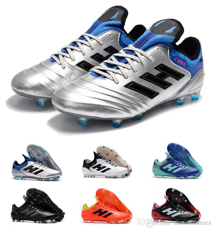 sports shoes 37a30 4749f Fg 1 Acquista Tango Scarpe Tacchetti 18 Copa Calcio Qualità Top Da wXXYA1S.