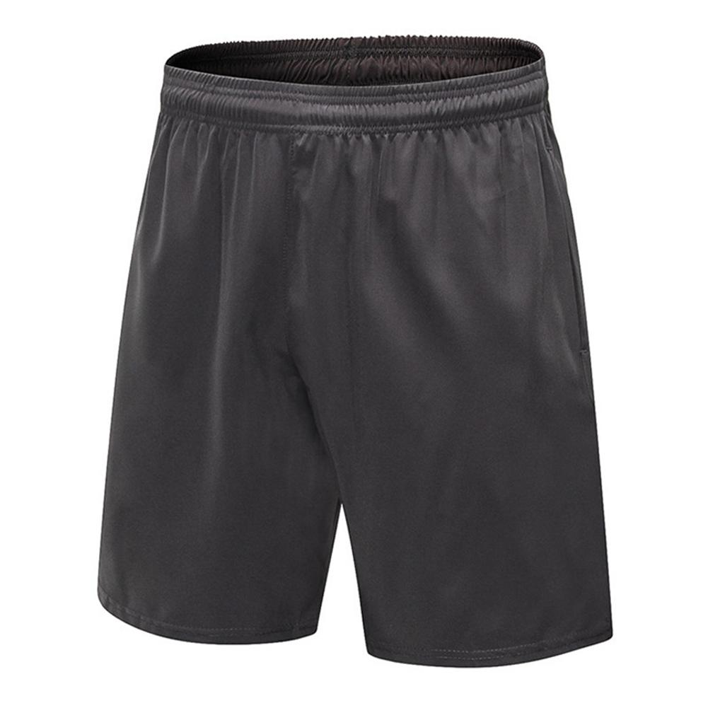 26d35a97ba 2019 Men Quick Dry Gym Shorts Fashion Summer Mens Zip Pocket Shorts Running  Casual Solid Plus Size Elastic Waist Short Pants From Beenni, $23.89 |  DHgate.
