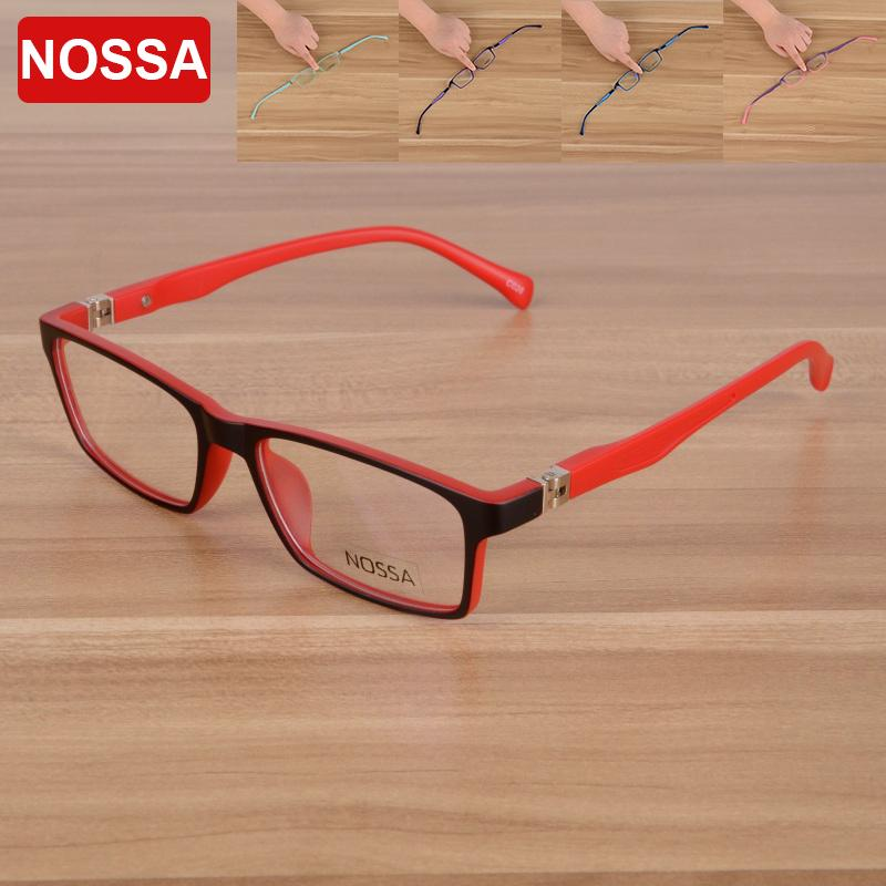 a89193a23f3 2019 NOSSA High Quality TR90 Kids Glasses Frame Unisex Cool Designer  Eyeglasses For Boys And Girls Delicate Red Children s Eyewear From Huazu