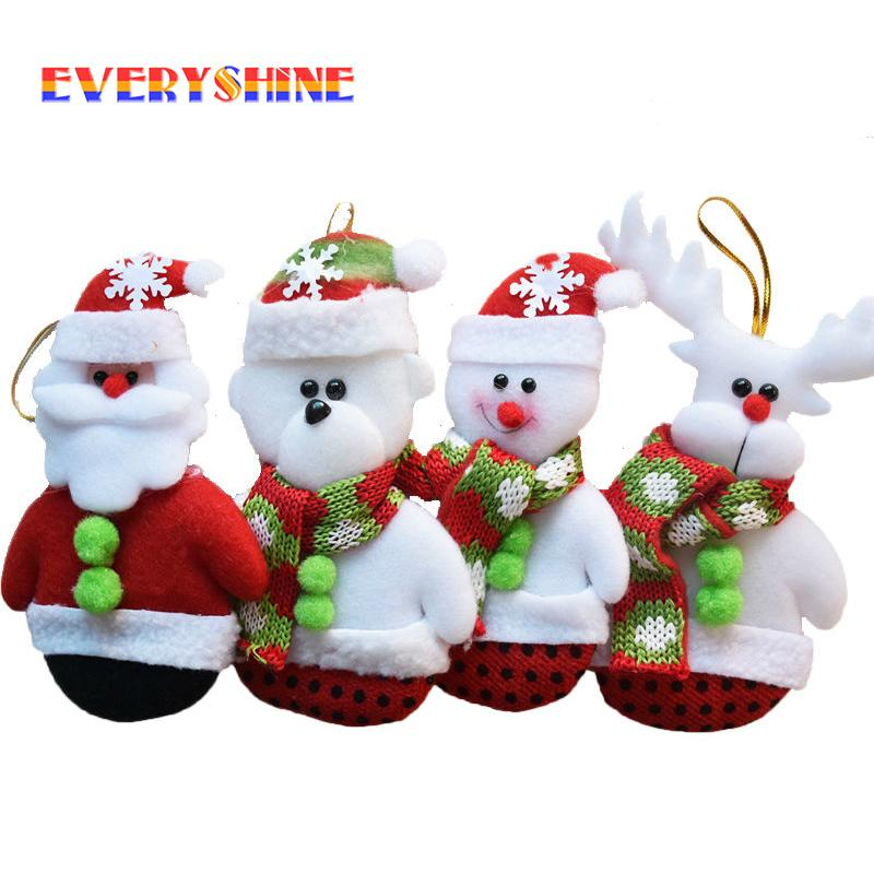christmas decorations for home santa deer snowman pendants christmas tree hanging ornaments gifts toys supplies sd 32 christmas ornament gift christmas