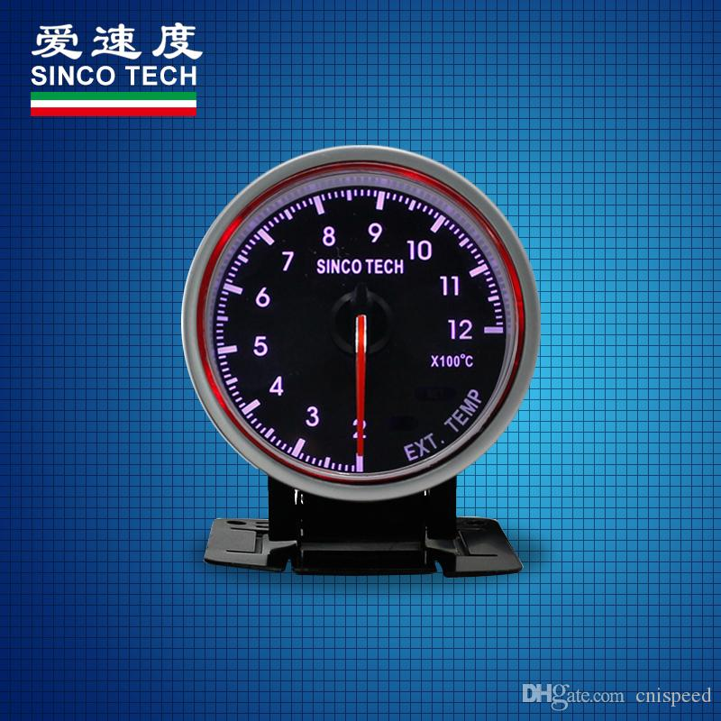 SINCO TECH DO6359 High Performance 12v Exhaust gas temperature race car  gauges permanent magnet motor instrument