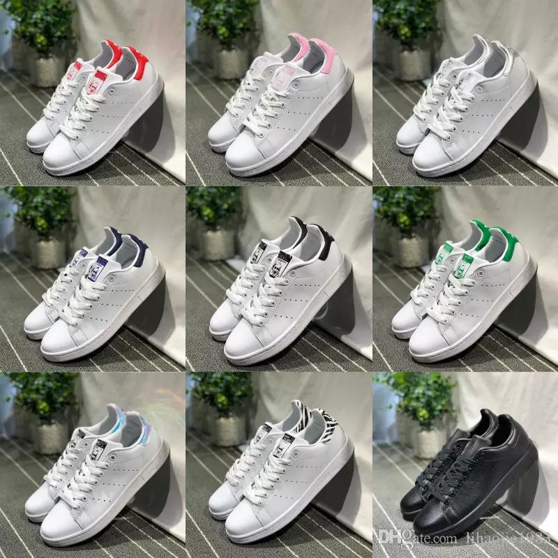 Sale 2019 New Originals Stan Smith Shoes Cheap Women Men Casual Leather  Sneakers Superstars Skateboard Punching White Girls Stan Smith Shoes White  Shoes ... e743f7362