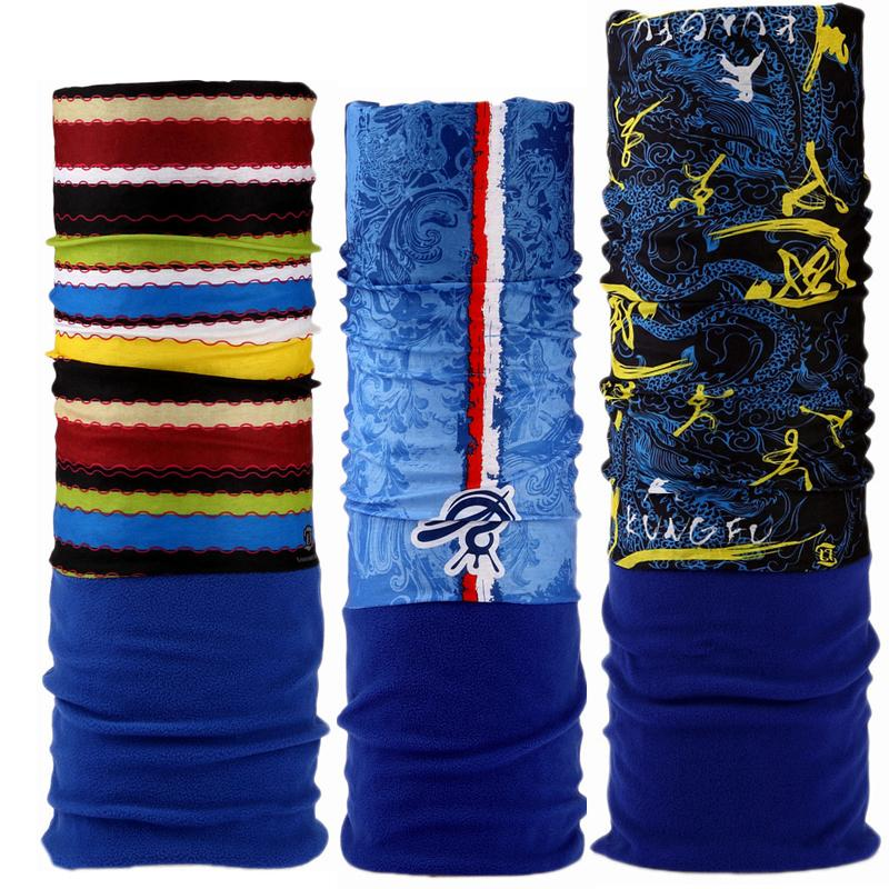 Compre Top Popular Un Tamaño Tubular Polar Reversible Bandana Cuello  Calentador Invierno Ski Headwear Máscara Ciclismo Corbata Escudo De La Cara  A  6.45 Del ... a446aa498b5