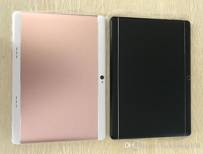 20X Yüksek kalite Octa Çekirdek 10 inç MTK6582 IPS kapasitif dokunmatik ekran çift sim 3G tablet telefon pc android 6.0 4 GB 64 GB