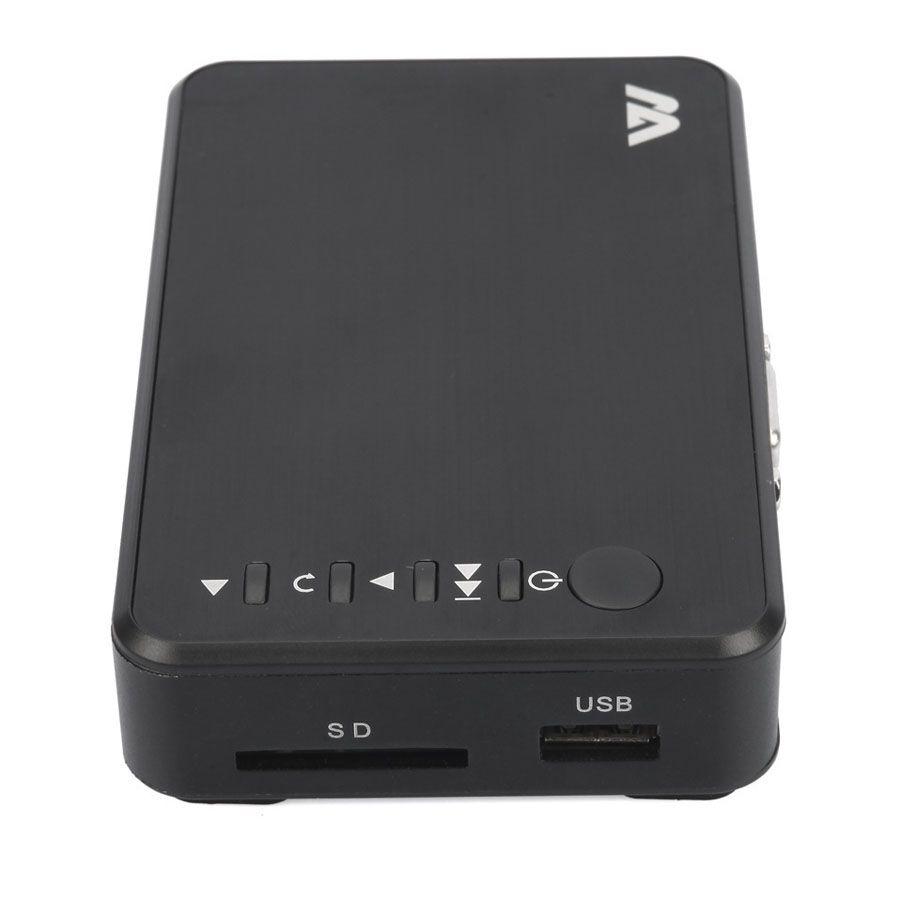 H7 HD Media Player Mini lettori HDD portatili Full HD 1080P HDMI VGA AV USB Disco rigido Disco rigido Scheda SD / SDHC / MMC