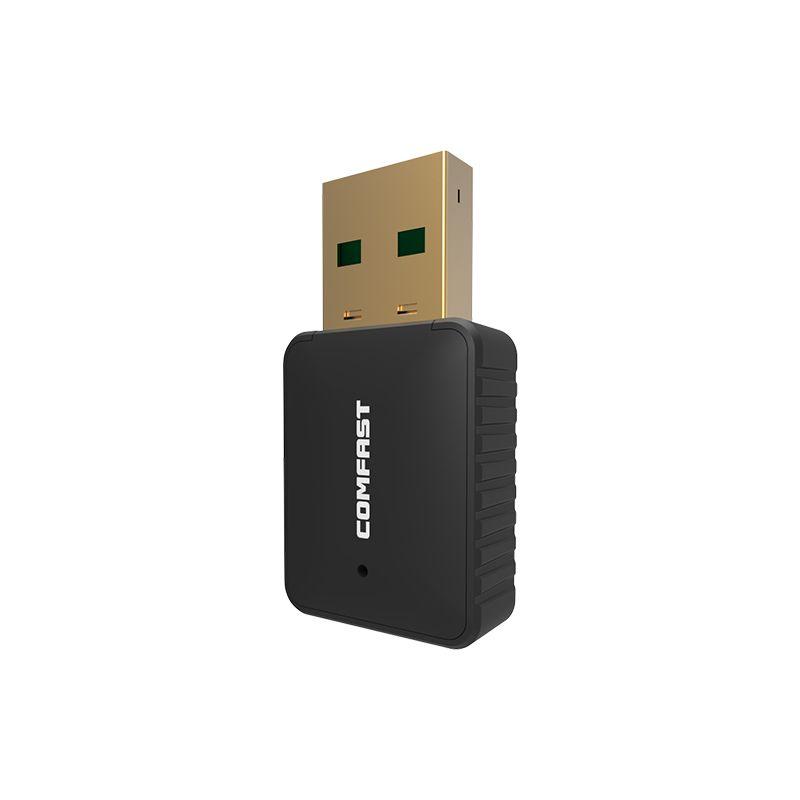2017 Hot! 600M AC USB 5GHZ 2.4Ghz Wireless Adapter AC600 Dual Band 802.11AC Antenna Wifi Adapter Comfast Wi-fi Network LAN Card