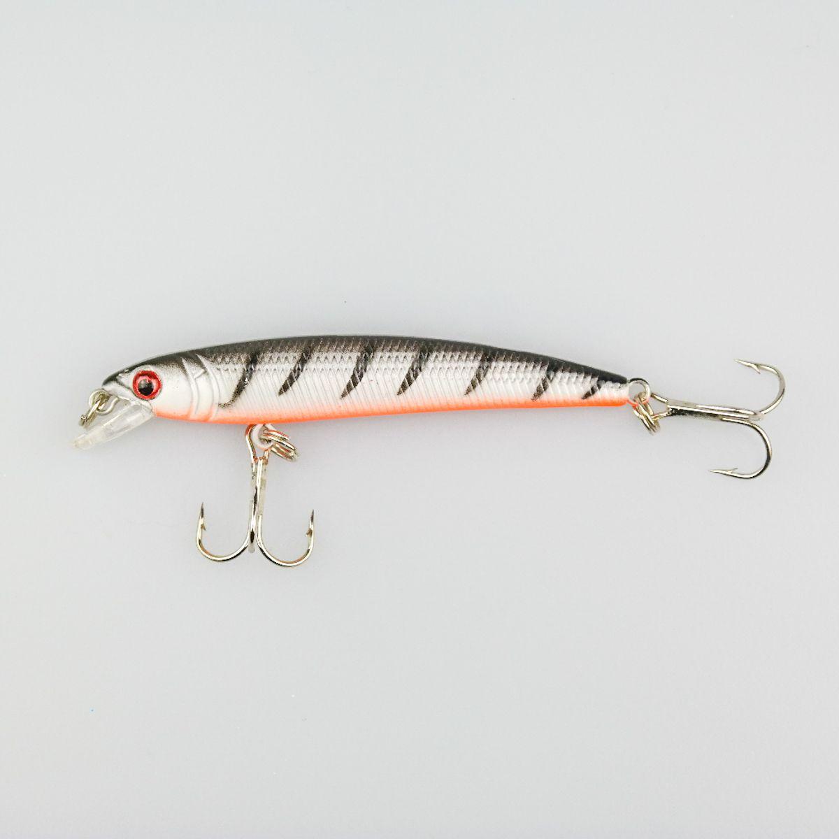Fishing Lure Hard Bait MI007 Length 9.8CM Weight 5G High-Carbon Hook Plastic Artificial Vivid Swimming Hard Bait