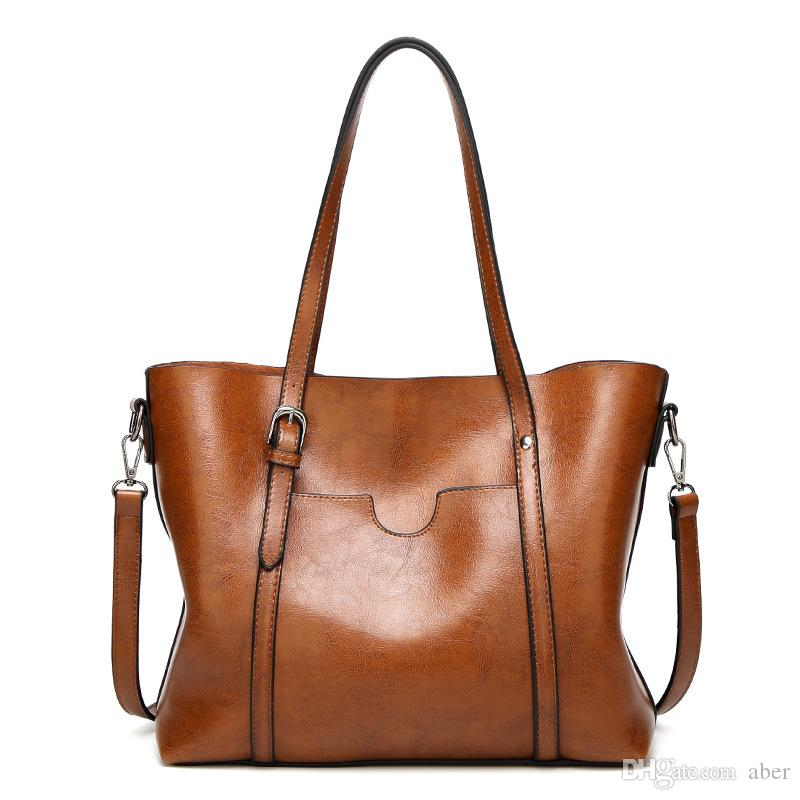 992193f3cd8c Shoulder Top Quality Women Designer Handbags Fashion Bags Made Of Real  Leather Women Tote Bag Womens Hand Bags Ladies Bags Leather Purses From  Aber