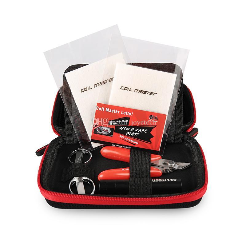 KIT DE BRICOLAJE Original 100% Original Coil DIY MINI Kit de herramientas de Vape de tamaño perfecto - Todos los productos Master Coil INSTOCK Póngase en contacto con libertad para obtener la mejor oferta
