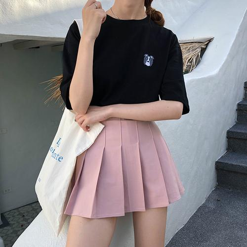 eb818ddb0769 Neue 2018 Sommer Frauen Harajuku Süße Faltenrock Adrette Mini Hohe Taille  Rock Mädchen Vintage Nette Schuluniformen Röcke