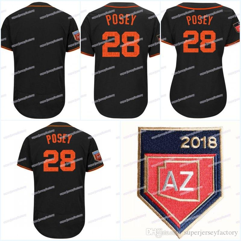 e934110df 28 Buster Posey Men s 2018 Spring Training Jersey Women Youth All Stitched  Flexbase Cool Base High Quality Baseball Jerseys 28 Buster Posey Jerseys  2018 ...