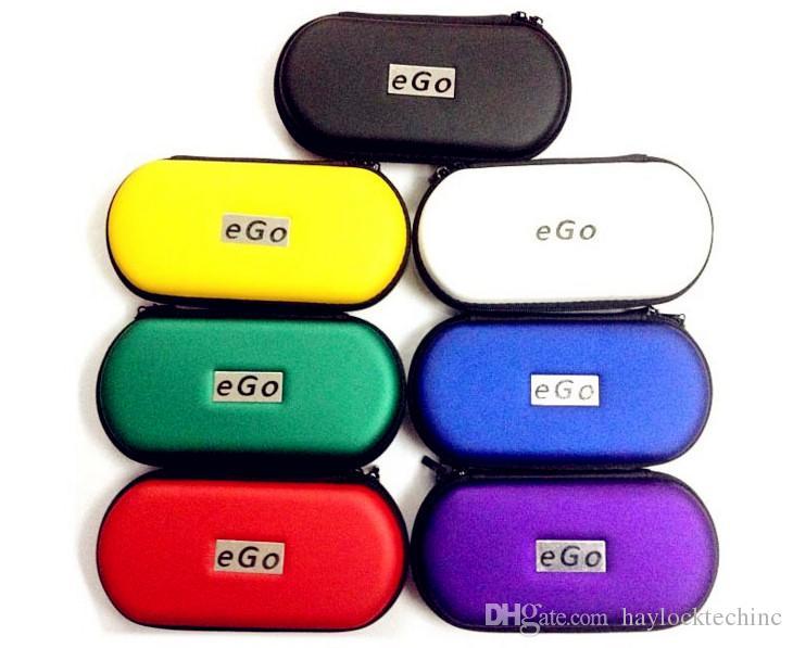EGO Electronic cigarette Zipper box case bag package with Zipper carrying for E cig Joye eGo-T ego--tank E-cigarette ce4 ce5
