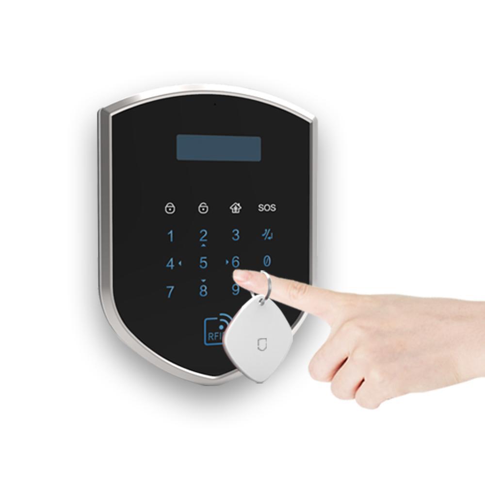 Wolf-Guard DIY 3G GSM WIFI Wireless Home Alarm Security Burglar System Door Sensor PIR Motion Detector Door Sensor Remote Control Access