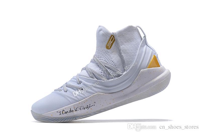 1f71b25a1b79 Acheter Stephen Classique Pas Cher Curry 5 High Cut Basketball Chaussures  Championship MVP Designer Chaussures Athletic Runing Chaussures De  100.51  Du ...