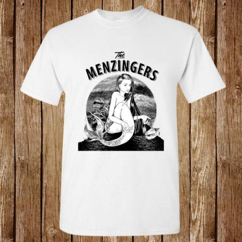Shirts Poster T The Unisex Shop Mermaid New Menzingers Shirt 9IWD2EHY