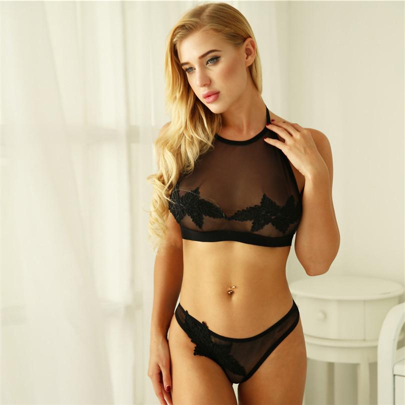 8c4ed15cea Lanshifei Lace Bralette And Pant Set Sexy Underwear Set Lingerie Women Bra  And Panty UK 2019 From Piaocloth