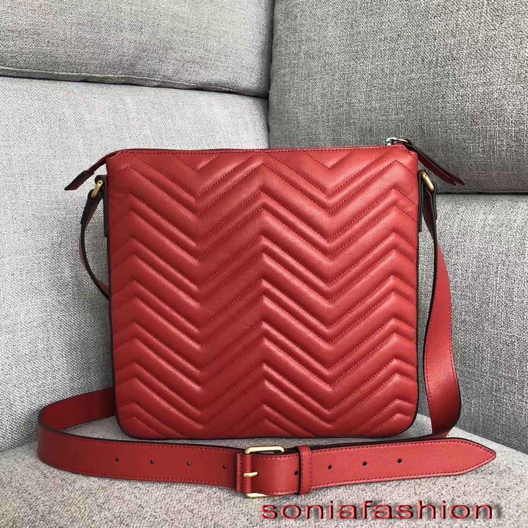 2018 New Hot Fashion Women Bag Genuine Leather Designer Lady Cross-body Bag  Women Bag Genuine Leather Cross Body Bag Online with  299.41 Piece on ... ecf74dda80483