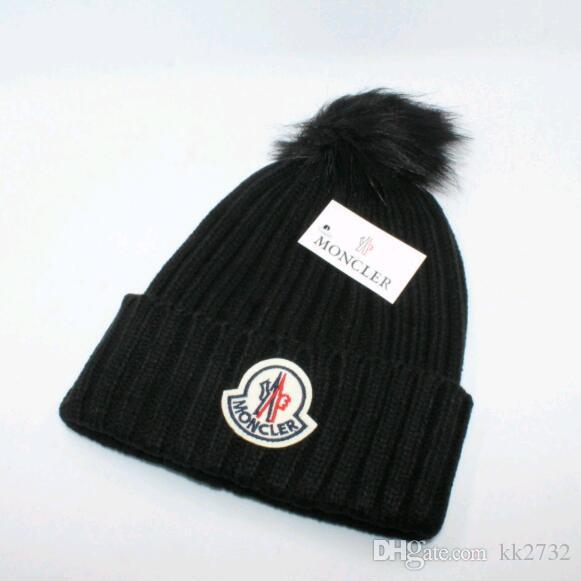 ecae0c6cc90 Z Autumn Winter Top Brand Hat Beanie Wool Knitted Cap Men Women Caps ...