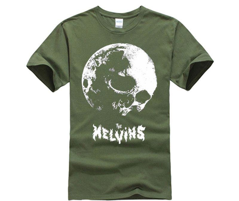 men t shirt the melvins skull moon t shirt men and women tee big
