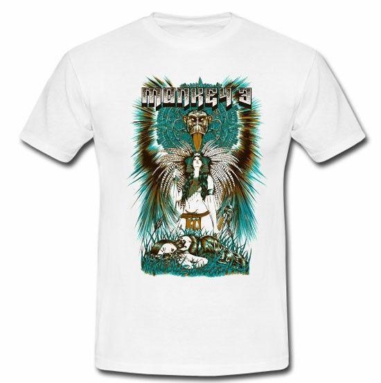 Monkey3 psychedelic stoner rock band My Sleeping Karma T-shirt TeeS M L XL  2XL