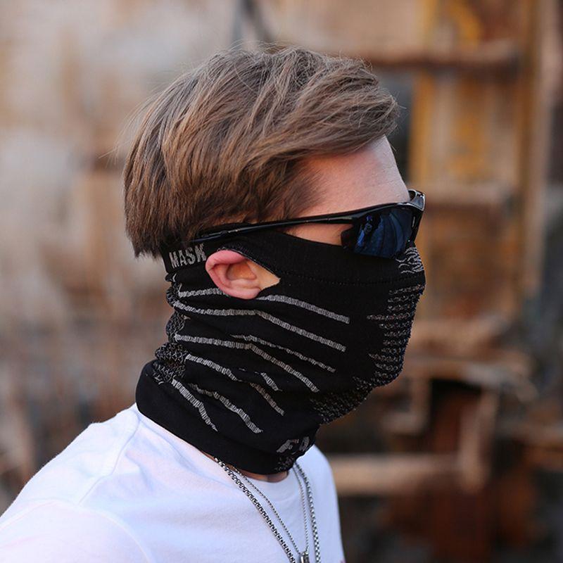 Máscaras De Montar A Caballo Para Hombres Y Mujeres A Prueba De Viento  Máscara De Tapa De Polvo Máscara Transpirable Bicicleta Máscara Máscara  Pañuelo ... 1c9a3f890928e