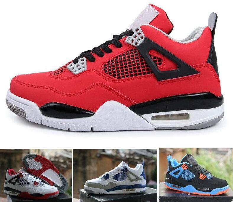 2e3d795ff3ac New 4 Mens Women Basketball Shoes Fear Cement Oreo Black Cat Sneaker Sport  Shoe