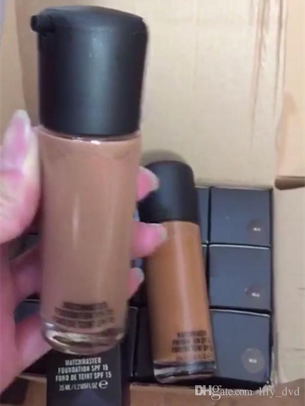 New Makeup Foundation MATCHMASTER Liquid Foundation 35ml i NC NW colori Spedizione DHL di alta qualità