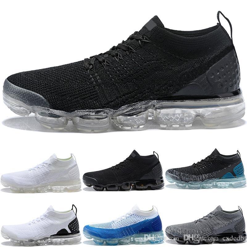 Vapormax Running Shoes Mens Women Classic Outdoor Run Shoes Vapor Black  White Sport Shock Jogging Walking Hiking Sports Athletic Sneakers Running  Shoes Mens ...