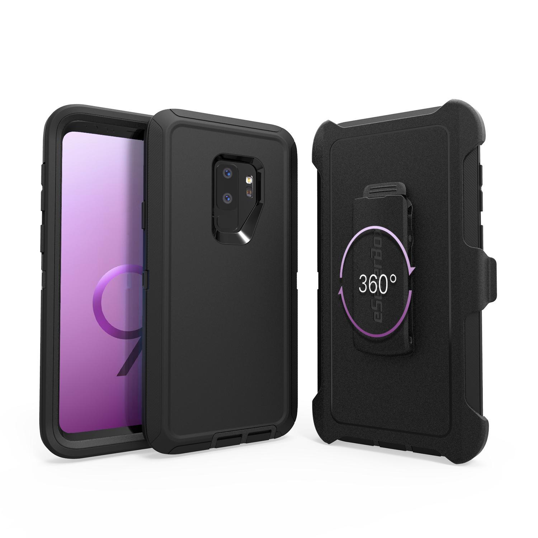 aadf56c24ed Fundas De Celulares ESellerBox Defender Case Para S9 Iphone 6 6s 7 Plus 8  8Plus X Samsung S9 S9 Plus S8 S8 Plus Note8 3 En 1 Funda Protectora Para  Celular ...