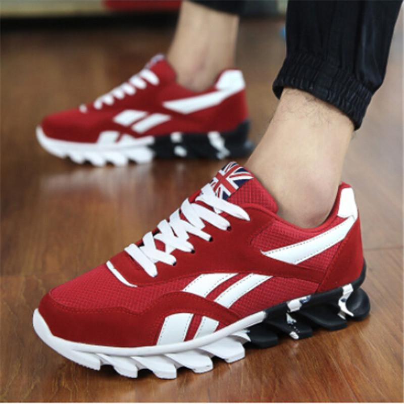 Underwear & Sleepwears Mens Mesh Sneakers Black Red Man Running Shoes Spring Autumn Gym Trainers Men Sneakers Breathable Trail Shoes For Male