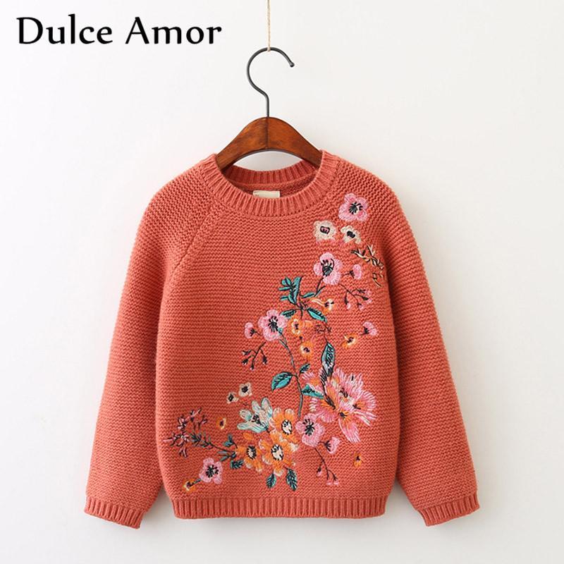 Großhandel Dulce Amor Mädchen Pullover Herbst Winter Kinder Warm ...