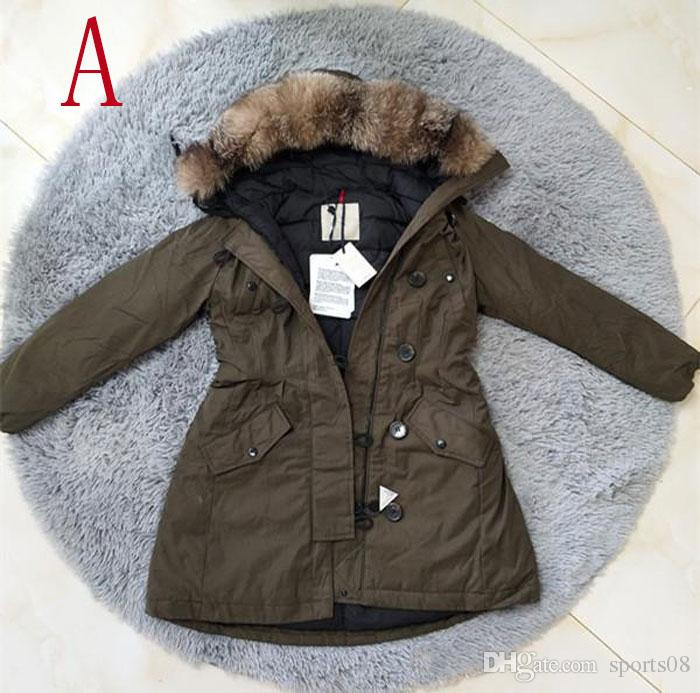286f99ddd2a3 Top Quality Brand Female Winter Army Green Down Jacket Coats Thick ...