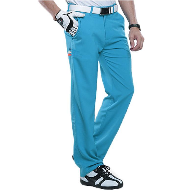 f8ae8947b4 Compre Pgm Homens Profissionais Sportswear Calças Compridas Ultra Fino Golf    Tênis De Verão Calças Slim Breathble Dry Quick Slim AA11847 De Youtuo