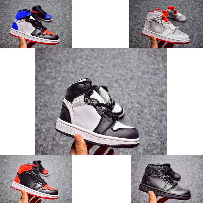 info for 9d68e 822bf Compre Nike Air Jordan 1 3 12 Retro Niño Negro Niño Niña 13 Años Criado  Historia De Vuelo Zapatillas De Baloncesto De Niños HEM Niños Atléticos  Deportes ...
