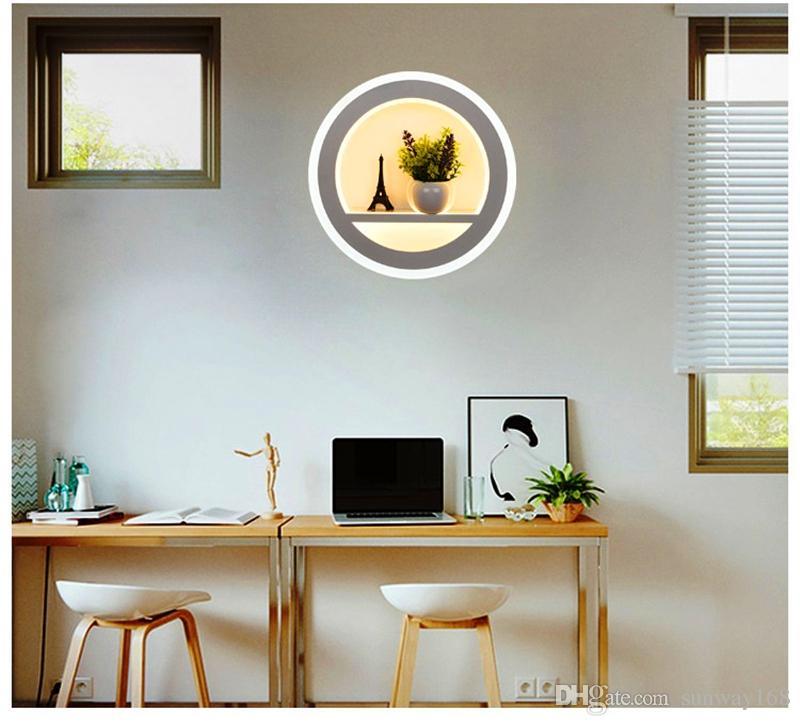 Großhandel Wandleuchte Wandleuchte Schlafzimmer Kunst Livingroom ...