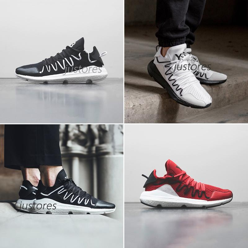 1114a7b79 2018 New Arrival TOP Y 3 Kusari Y3 Yohji Run Boost Sneaker Y3 Luxury  Designer Shoes Mens Running Shoes WITH Half Size Skechers Running Shoes  Best Trail ...