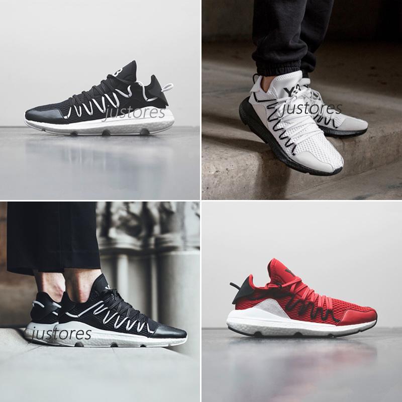 35775bb28113 Compre 2018 Nueva Llegada TOP Y 3 Kusari Y3 Yohji Correr Boost Sneaker Y3  Zapatos De Diseñador De Lujo Zapatos Para Correr Para Hombre CON Medio  Tamaño A ...