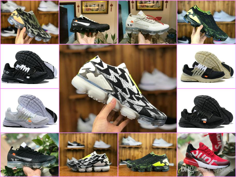 2018 Air ACRONYM X FK Moc Lab Presto Mid Running Shoes Off Vapor 2.0 ... 6de503244