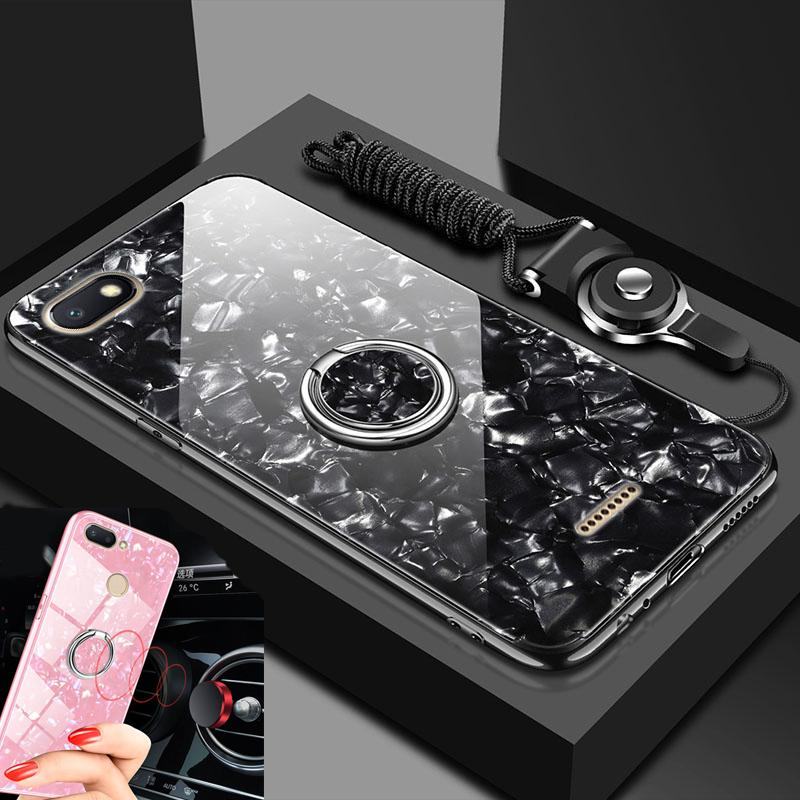 best website 87bb0 5d567 wholesale Mi A2 Lite case cover Xiaomi A1 back cover silicone shockproof  tempered glass magnet car holder case capas on Mi A2 case
