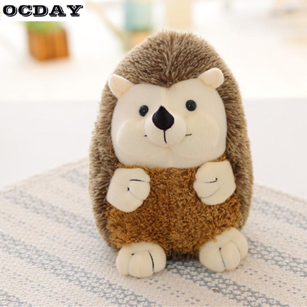 2019 Ocday 17cm Ty Beanie Boos Soft Hedgehog Plush Toy Doll Baby