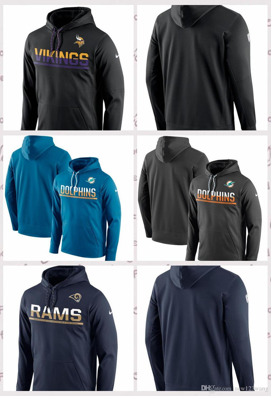 000617ec0 Minnesota Vikings Los Angeles Rams Miami Dolphins Sideline Circuit ...