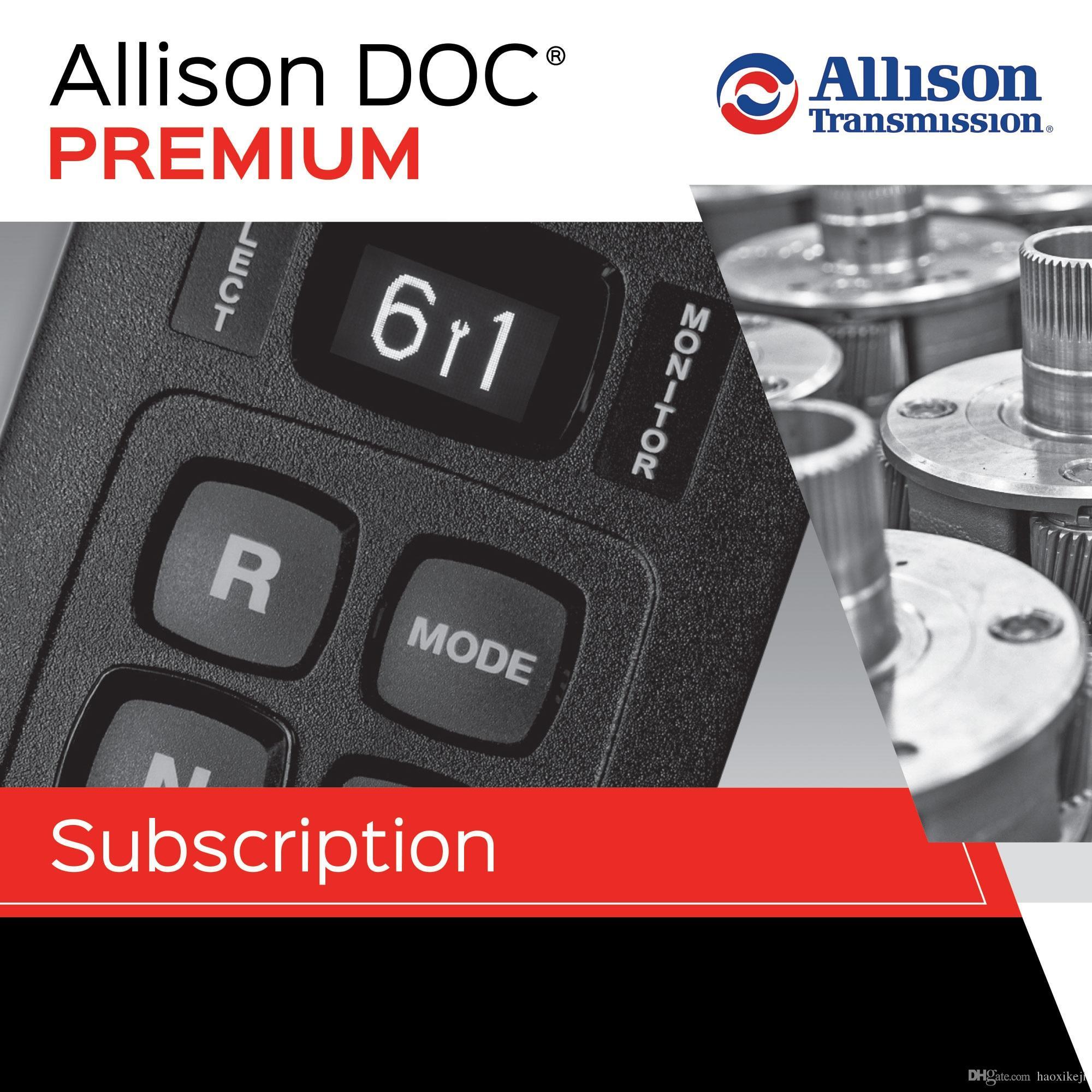 New 100% Universal Allison DOC For PC - Service Tool 2017v2