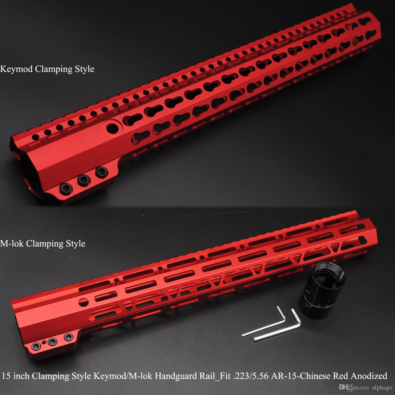 2019 15 Inch Clamping Style Keymodm Lok Handguard Rail Picatinny