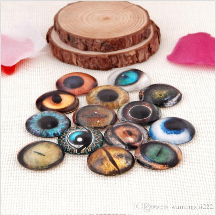 2018 HOT selling Animal eye galss Snap button Charm Popper for Snap Jewelry picture pendant
