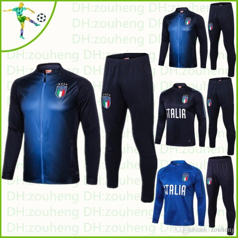 2017 Italie De Survêtement Acheter Veste Football 2018 2019 Zip XdHqnwF