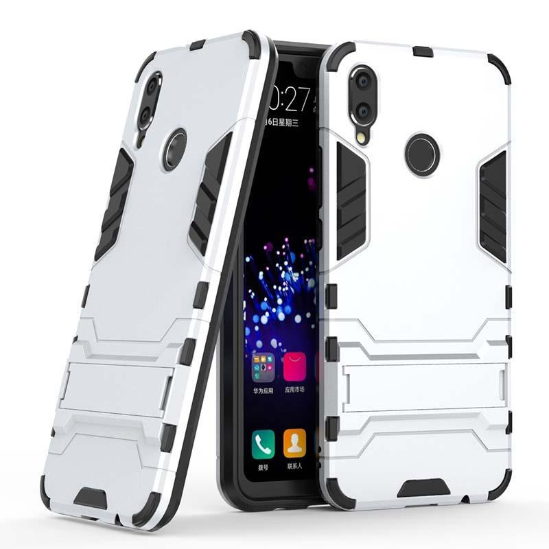 negozio online 1279d 06e68 Per Huawei Nova 3 3i P Smart Plus Custodia Custodia per cellulare Custodia  Slim Armatura Hybrid Combo Cover Luxury 2 in 1 Anti Shock Iron man